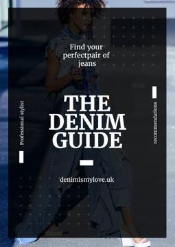 Denim guide poster