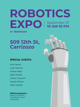 Android Robot hand for expo