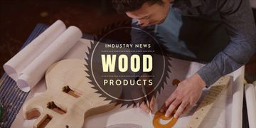 wood products advertisement banner