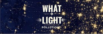 Light pollution poster