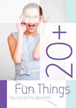 Fun things poster