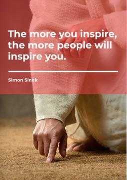 Citation about a people inspiration