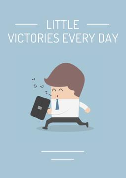 Citation about a little victories every day