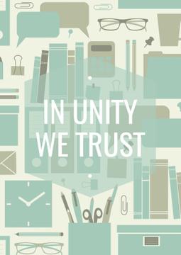 In unity we trust Citation