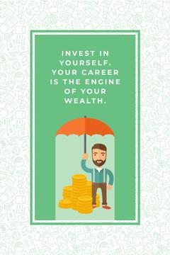 Citation about personal invest