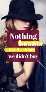 Quotation about shopping haunts