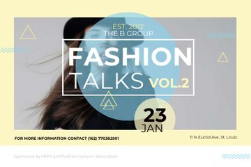 Fashion talks Annoucement