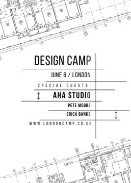 Design camp announcement on blueprint