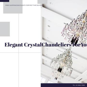 Elegant Crystal Chandeliers Sale