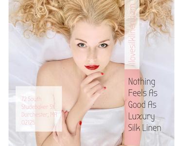 Luxury silk linen