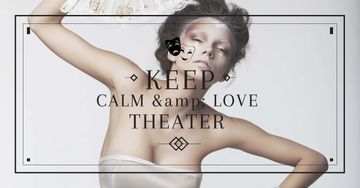 Citation about love to theatre