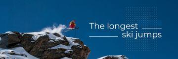 The longest ski jumps