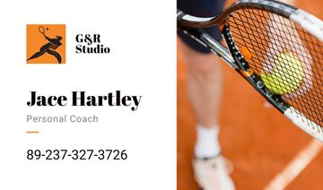 Personal tennis trainer Offer