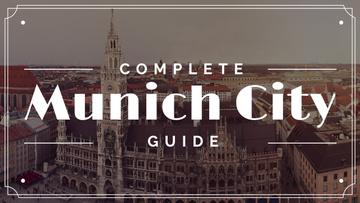 Munich city guide card