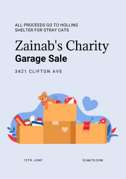 Charity Garage Sale Ad