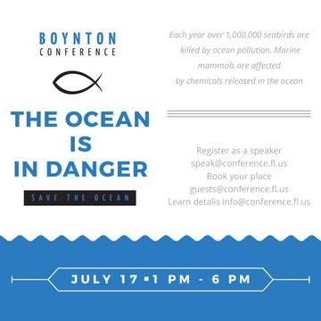 Boynton conference Ocean is in danger