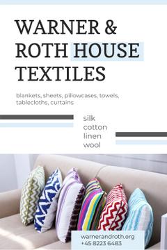 House Textiles Ad