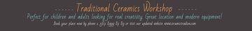 Traditional Ceramics Workshop