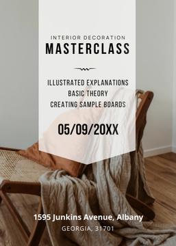 Interior decoration masterclass with Sofa in grey