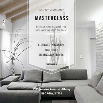 Interior decoration Masterclass with Stylish Room
