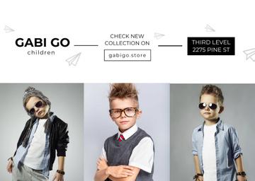 Сhildren clothing store with Stylish Kids