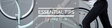 Cycling club banner
