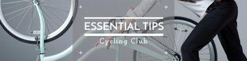 Cycling club banner