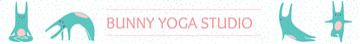 Yoga Studio Ad Bunny Performing Asana