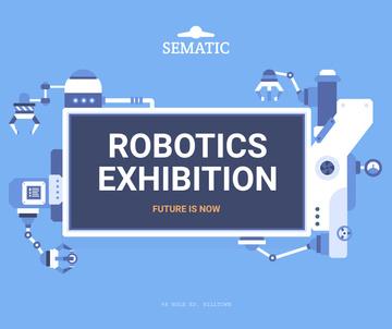 Robotics Exhibition Ad Automated Production Line