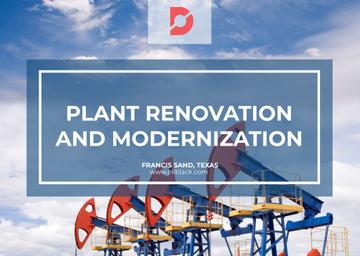 Plant modernisation with Construction Cranes