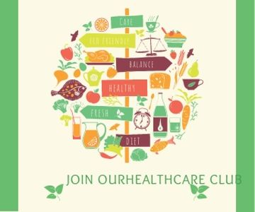 Healthcare club poster