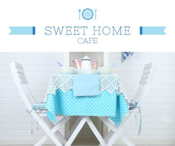 Sweet home cafe poster