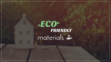 Construction shop with eco friendly materials