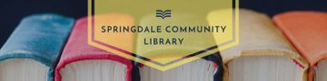 Community library banner