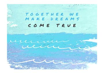 Citation about together dreams