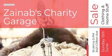 Zainab's charity Garage
