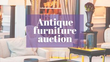 Antique Furniture Auction Vintage Wooden Pieces