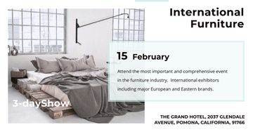 International furniture show Annoucement