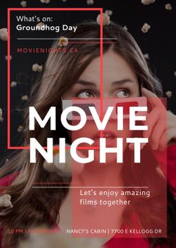 Movie night event Annoucement