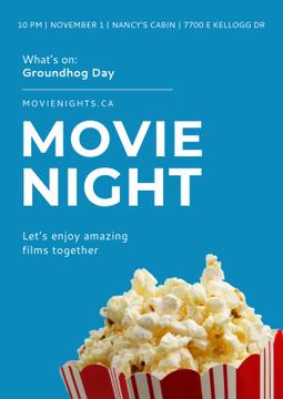 Movie night event Annoucement