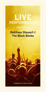 Matthew Stewart & The Black Banks live performance