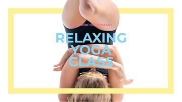 Woman exercising at Yoga Class
