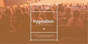 Pygmalion performance in Richmond High Theater