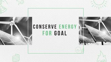 Green Energy Wind Turbines and Solar Panels