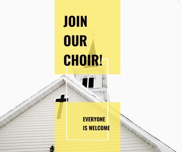 Invitation to a religious choir
