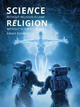 Religion Quote with Human Image