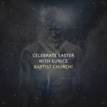 Church Invitation with Human Image