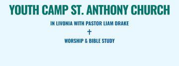 Youth religion camp of St. Anthony Church