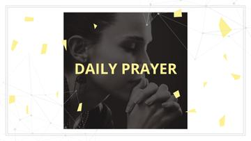 Daily prayer poster