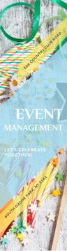 Event Management Studio Ad Bows and Ribbons
